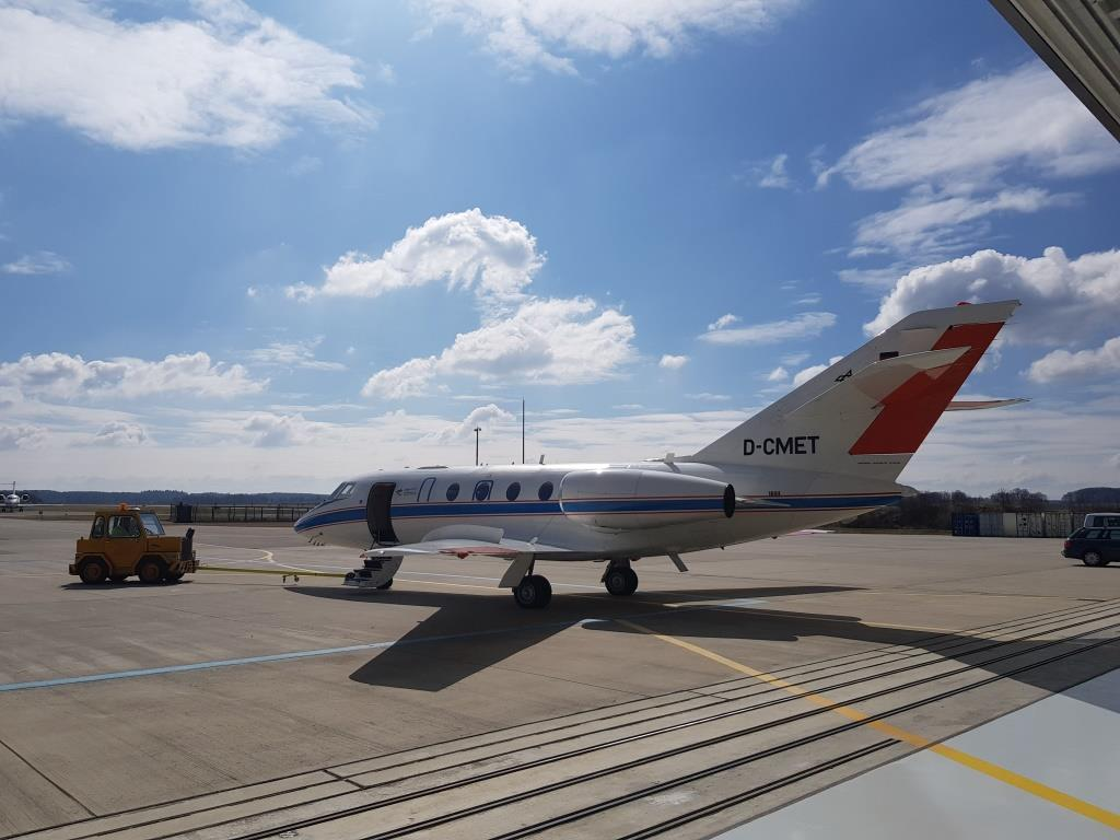 LDACS maiden flight in March 2019